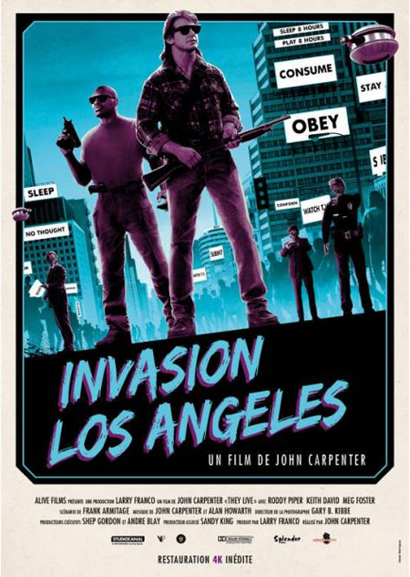 Invasion Los Angeles de John Carpenter
