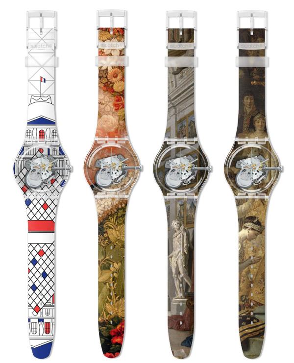 Louvre et Swatch