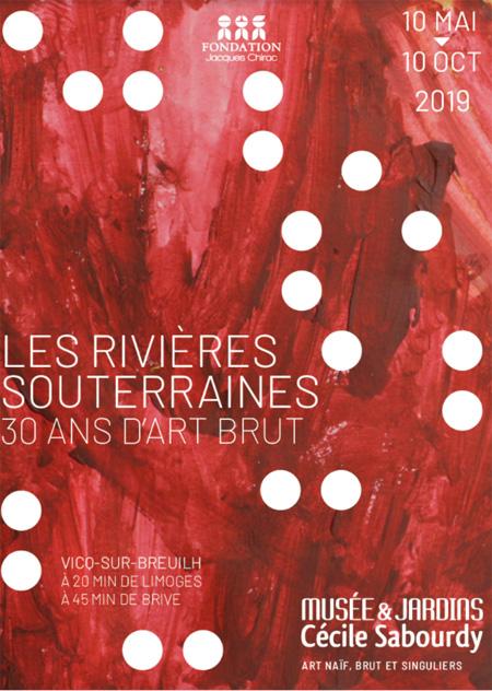 Le Musée et Jardins Cécile Sabourdy présente Les rivières souterraines
