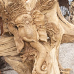 Bali elephant sculpture