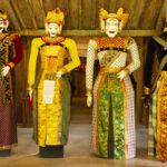 Bali masque debout