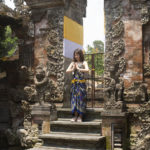 Bali temple femme