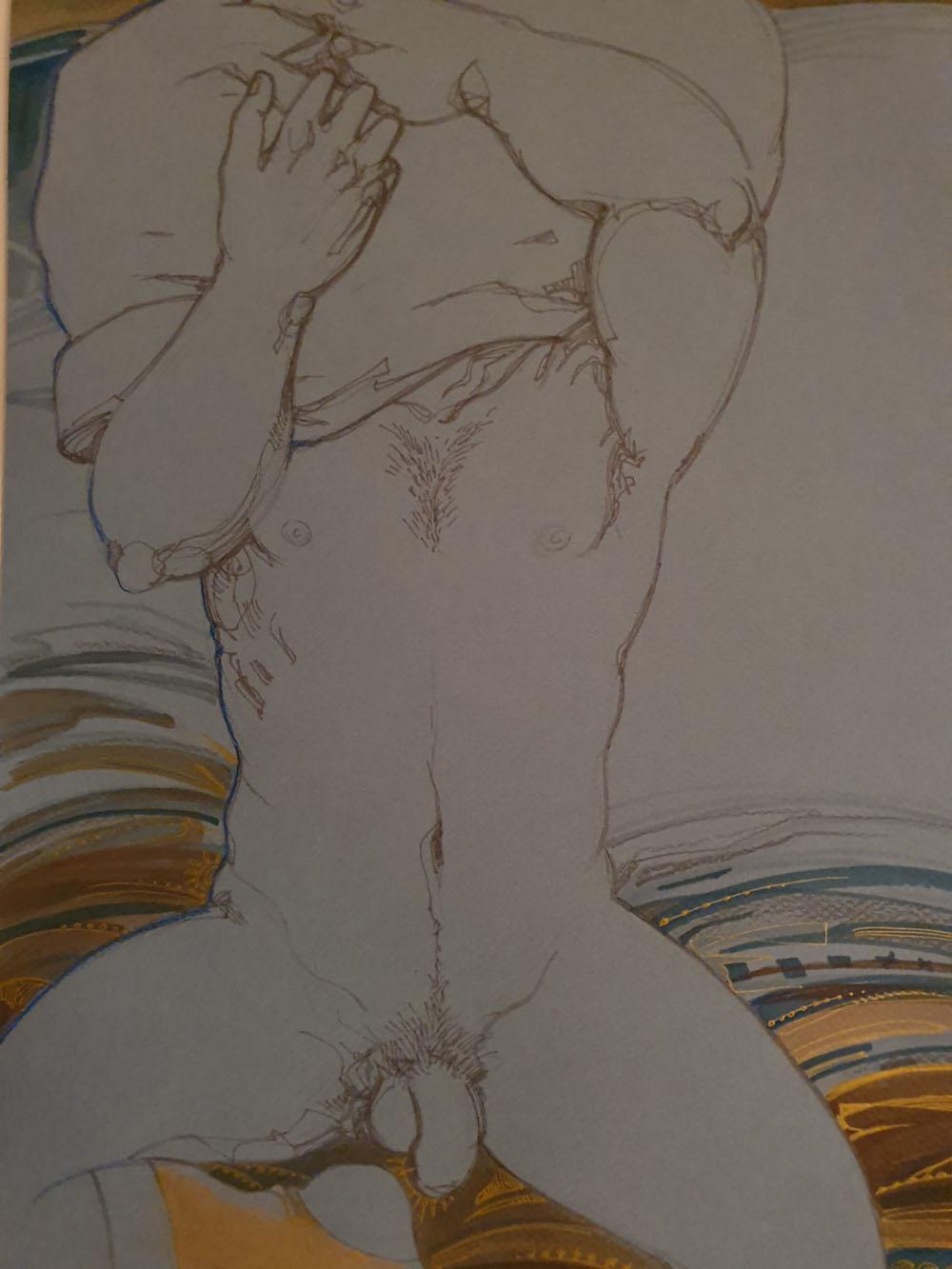Maïa Mazaurette : Une ode au corps masculin et au phallus