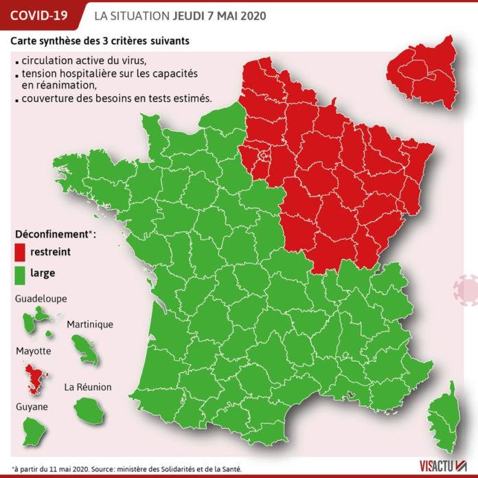 la France coupée en 2