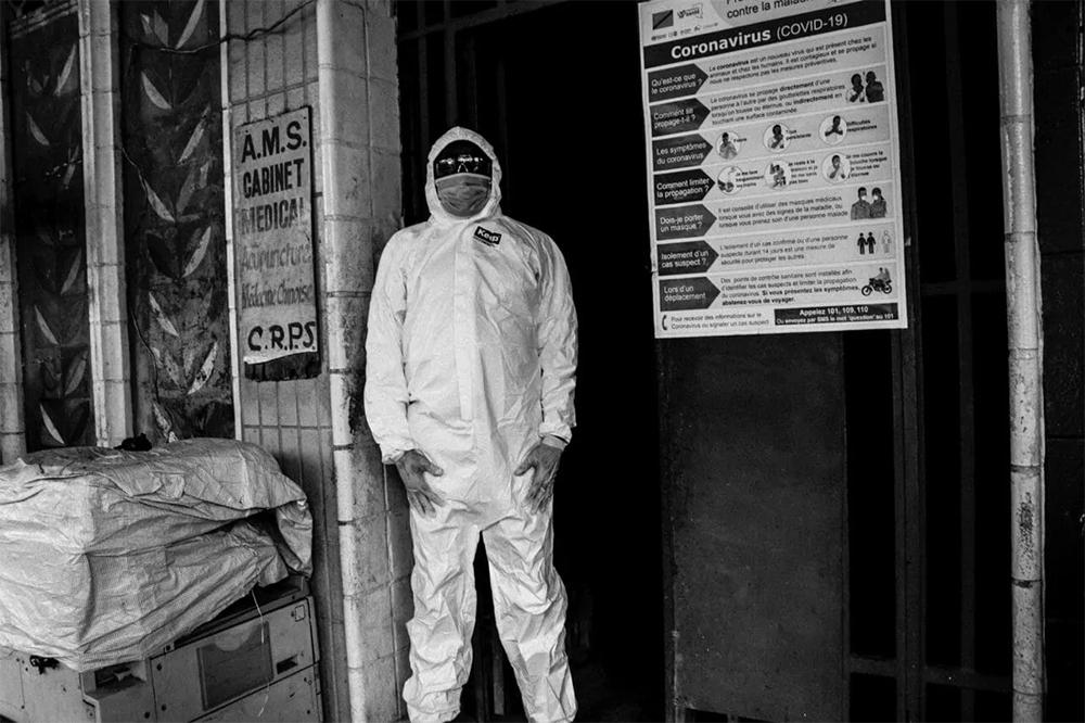 Kinshasa en confinement