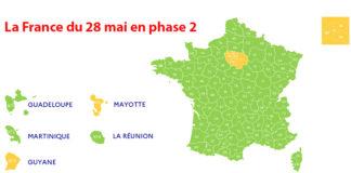 La France en phase 2 du déconfinement