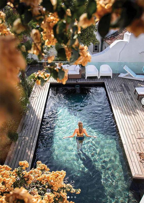 La piscine du Palácio Belmonte