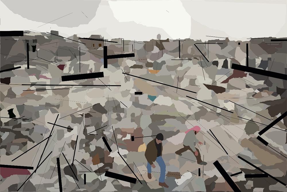 La Guerre civile syrienne