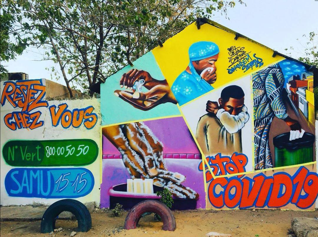 Le graffiti pour sauver des vies