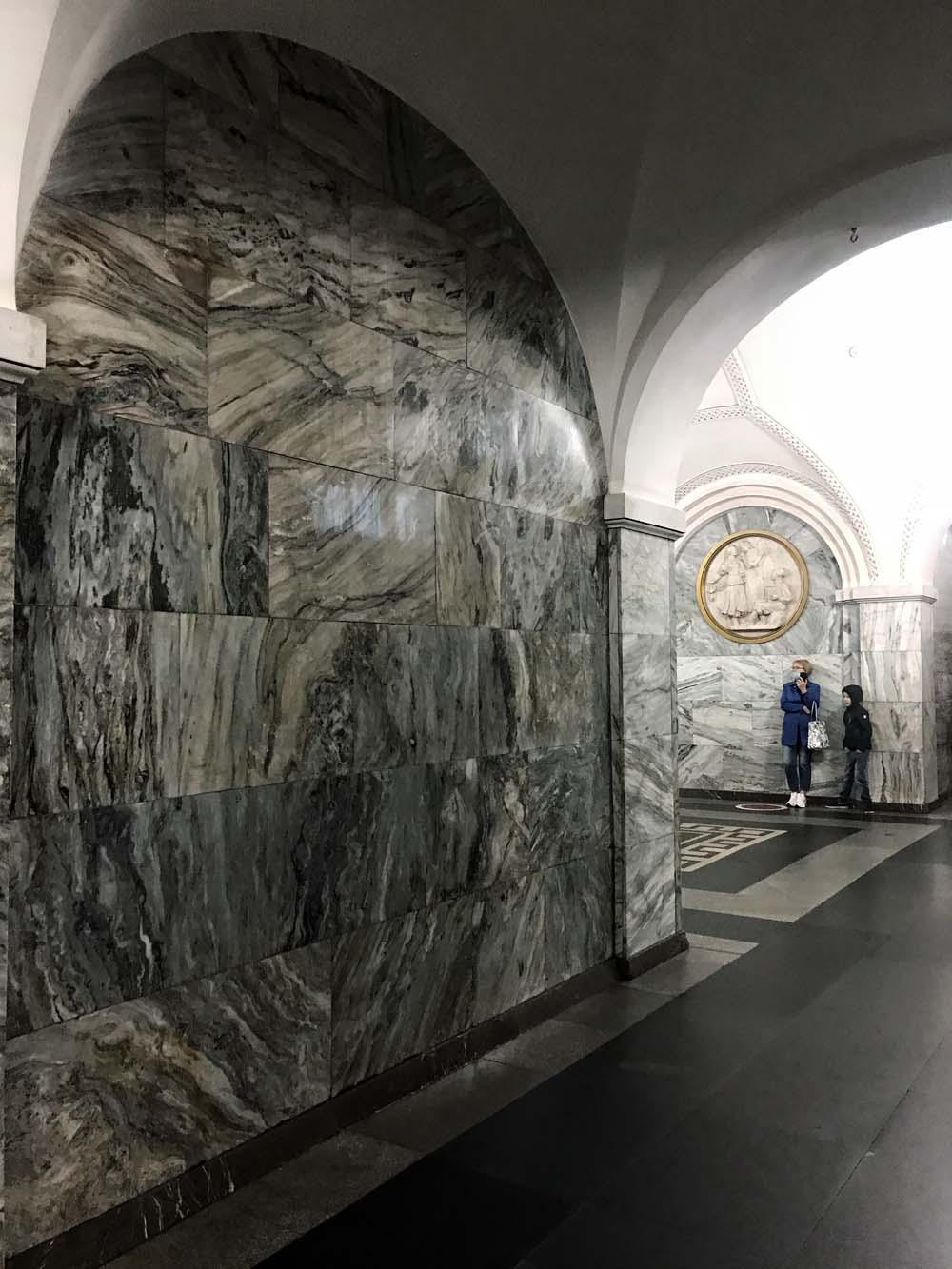 Les stations du Métro de Moscou