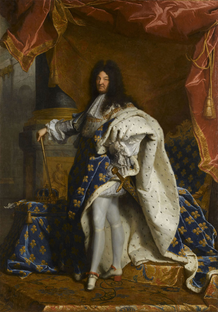 Portrait de Louis XIV en costume