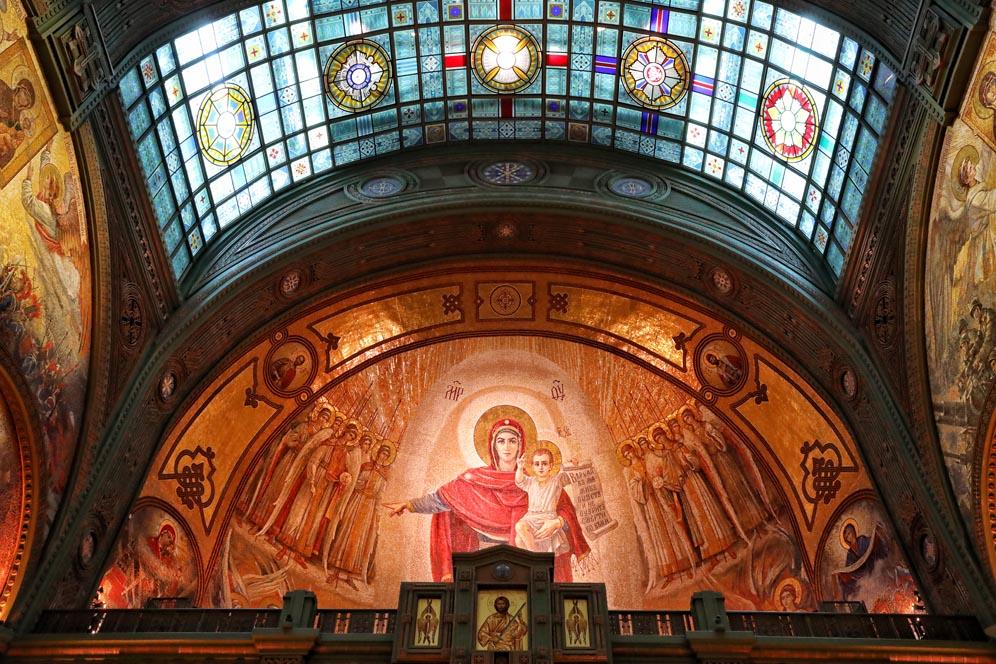 La cathédrale patriarche de la résurrection du Christ by Anna Pavlikovskaya (23)
