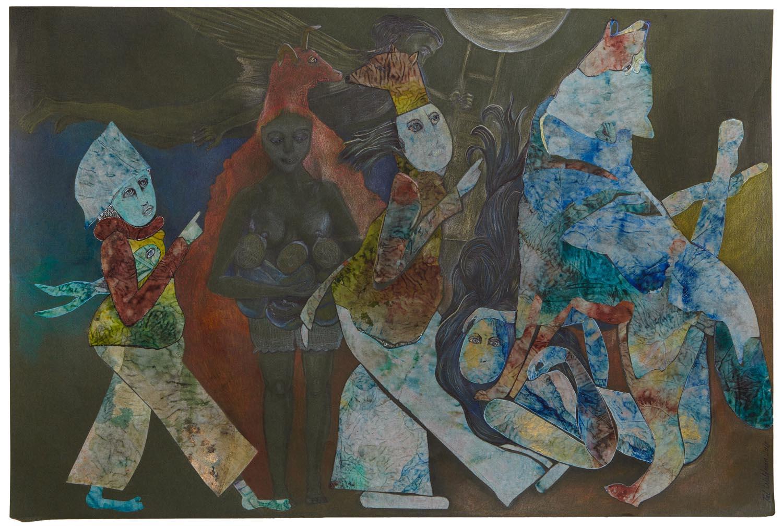 Projet Femme-Louve - Soumission By Tal Waldman