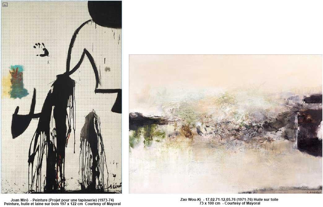 Joan Miró et Zao Wou-Ki