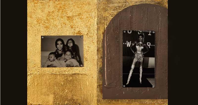 Kim Kardashian et ses enfants