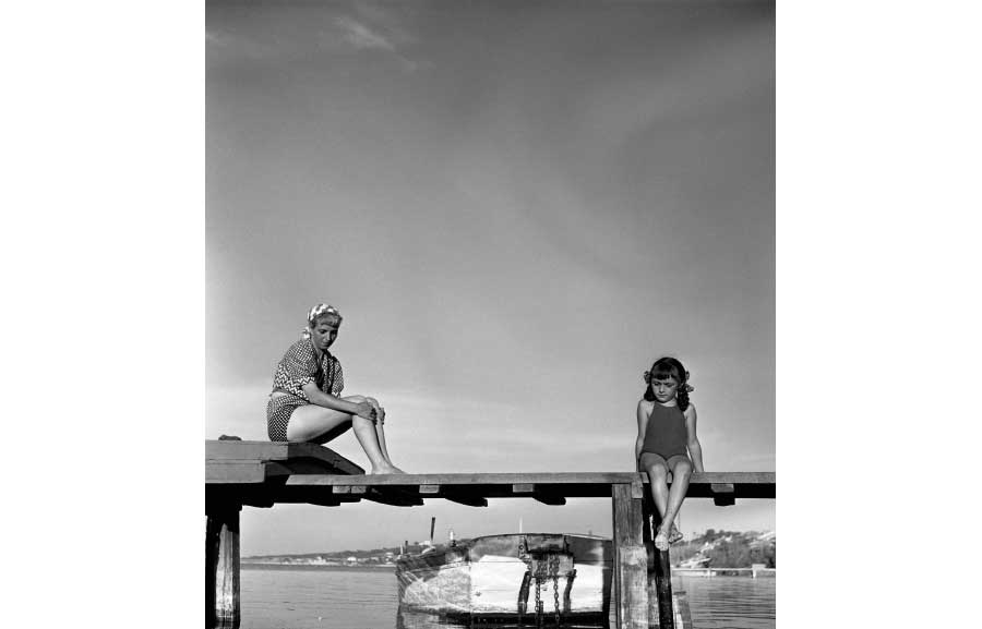 Robert Doisneau - Le ponton