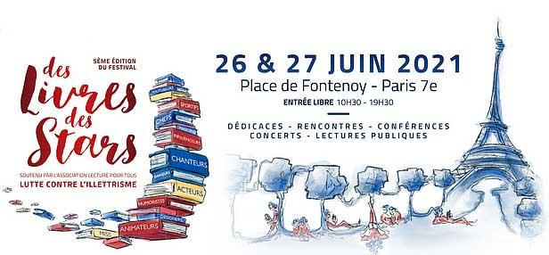 Festival « Des Livres, des Stars »