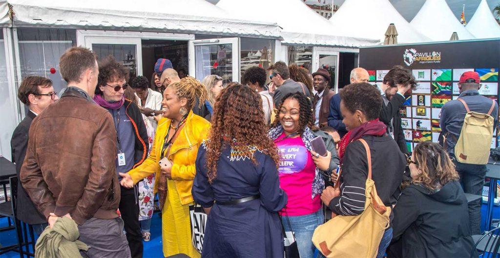 Pavillon Afriques au Festival de Cannes 2021
