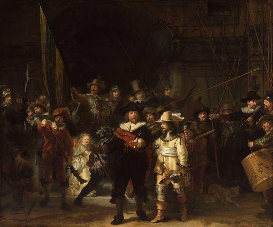Rembrandt : La Ronde de nuit
