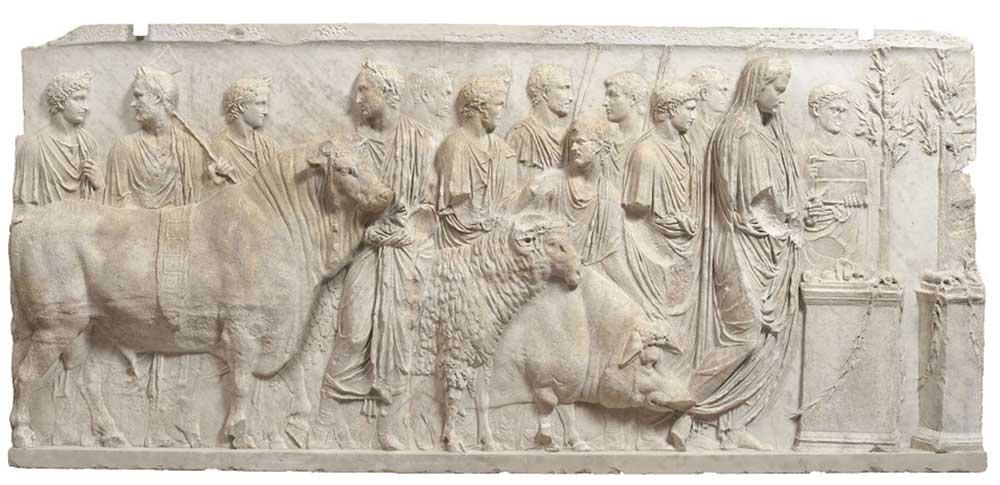 Fragment de relief architectural
