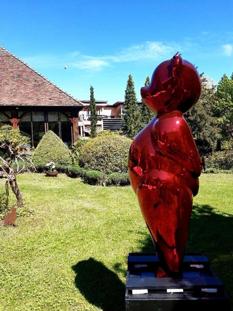 Le Relais Bernard Loiseau à Saulieu avec Summer Red Moon