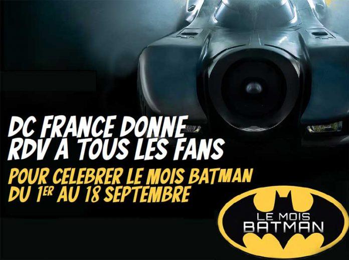 Le Mois Batman en Batmobile